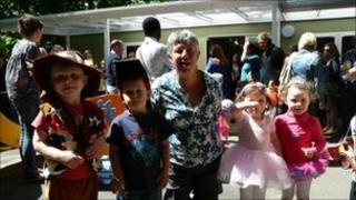 Dorothy Stringer playgroup opening
