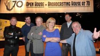 BBC NI presenters
