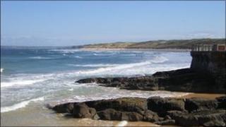 Beach in Portrush