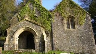 Llandyfeisant Church on the Dinefwr Estate