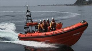 New lifeboat Eric W Wilson