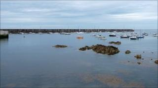 Alderney breakwater