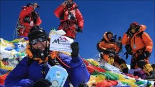 Gavin Bate Everest