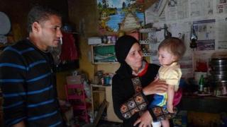 Mohammed's family, al-Mansoura, Egypt