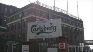 Tetley's Brewery in Leeds