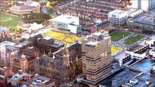 Middlesbrough's Centre Square