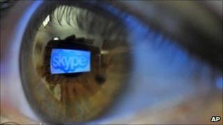 Skype reflection, AP