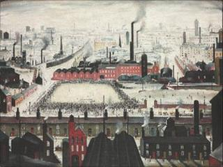 The Football Match, LS Lowry 1949