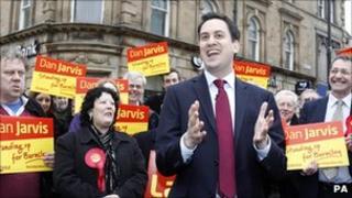 Ed Miliband in Barnsley
