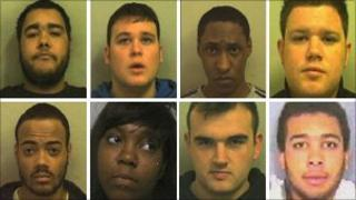 Ashley Pritchard, Alex Fillingham, Duncan Leon, James Fillingham, James Viera, Marissa Campbell, Jack Jones, Wesley White