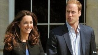 The Duke and Duchess of Cambridge