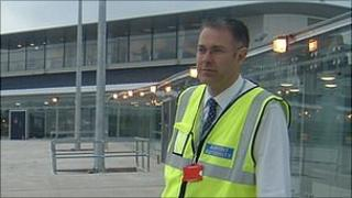 Guernsey Airport's director Colin Le Ray