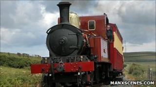 Isle of Man Steam Train courtesy Manxscenes.com