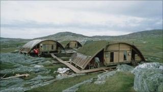 Castaway accommodation on Taransay