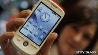 HTC smartphone