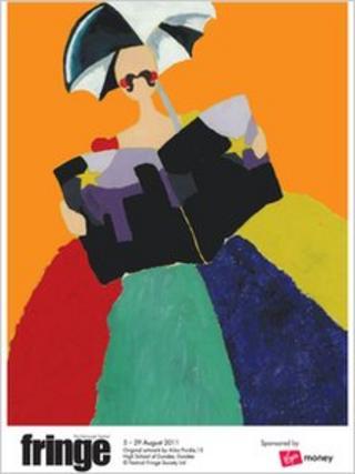 Edinburgh Fringe winning poster