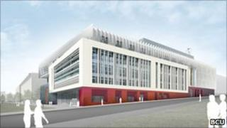 Artists impression of Phase One work