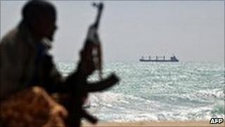 Somali pirate (file image)