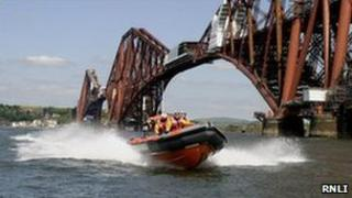 Lifeboat on the Forth