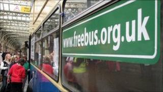Freebus at Temple Meads