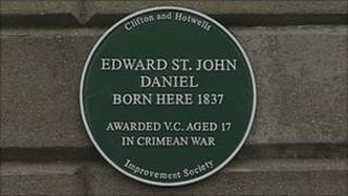 Edward St John Daniel plaque
