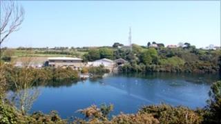 Guernsey Water's headquarters