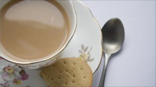Cup of tea and a biscuit