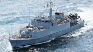 HMS Penzance was commissioned on 14 May 1998