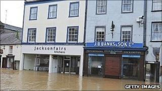 Flooding in Cockermouth