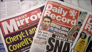 Daily Mirror and Daily Record