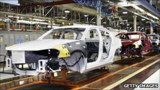 Chrysler car plant in Michigan