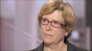 Chief Executive of Great Ormond Street Hospital Dr Jane Collins