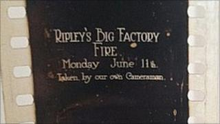 A frame from one of John Marshall's films