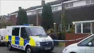 Farnham stabbing scene