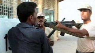 Pakistan Rangers detain Sarfaraz Shah in a Karachi park on 9 June