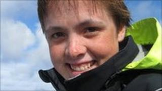 Sarah Outen on her Indian Ocean row
