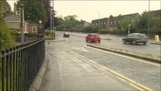 Scene of attempted abduction in Rutherglen
