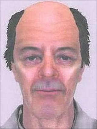 e-fit of man West Yorkshire Police want to trace