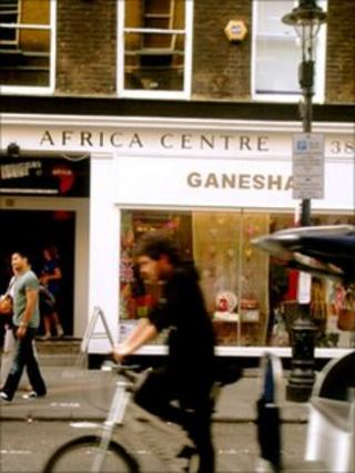 Africa Centre in Covent Garden, London