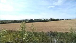 Site of proposed Sainsbury's depot