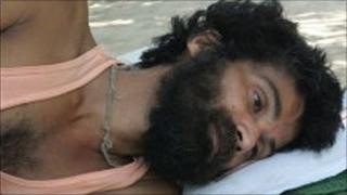 Swami Nigamanand on hunger strike