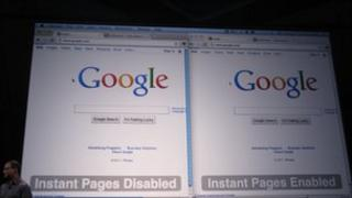 Instant Pages being demoed