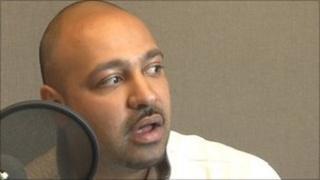 Guramit Singh speaking to BBC WM