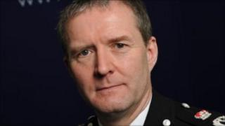Chief Constable Simon Parr