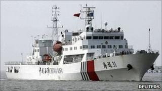 Haixun-31 in Putian, Fujian province (March 2011)