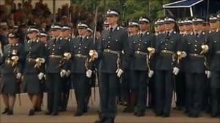RAF Cranwell cadets