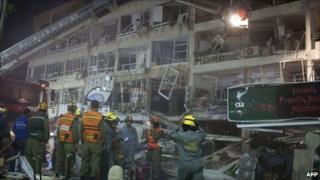 Gas blast at Netanya appraisement building