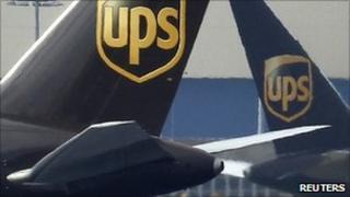 UPS aircraft