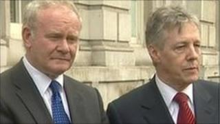 Martin McGuinness and Peter Robinson will attend the meeting