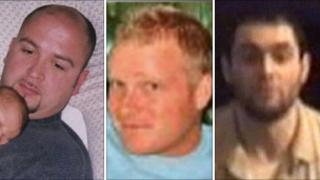 Left to right: Jason Creswell, Alec MacLachlan and Jason Swindlehurst